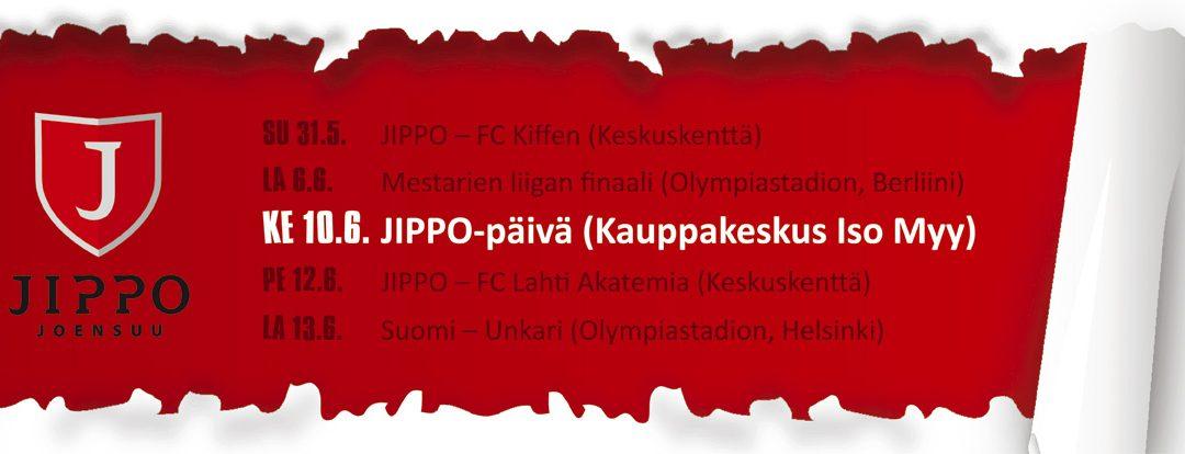 JIPPO-päivä Iso Myyssä 10.6.