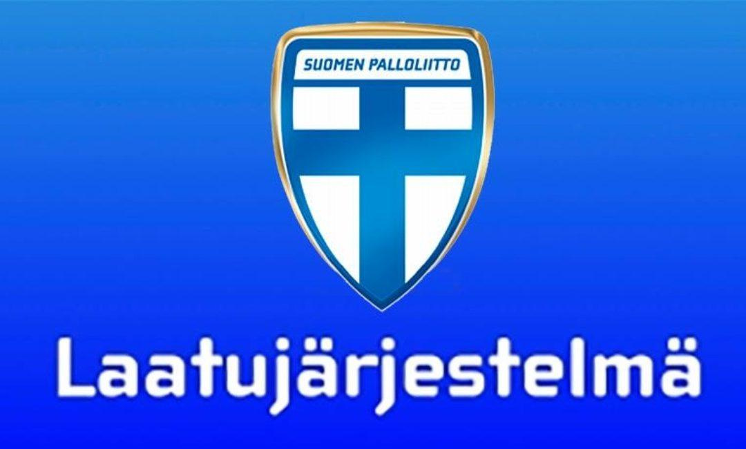 JIPPO-edustus ja JIPPO-juniorit Palloliiton laatujärjestelmän tasolle 4