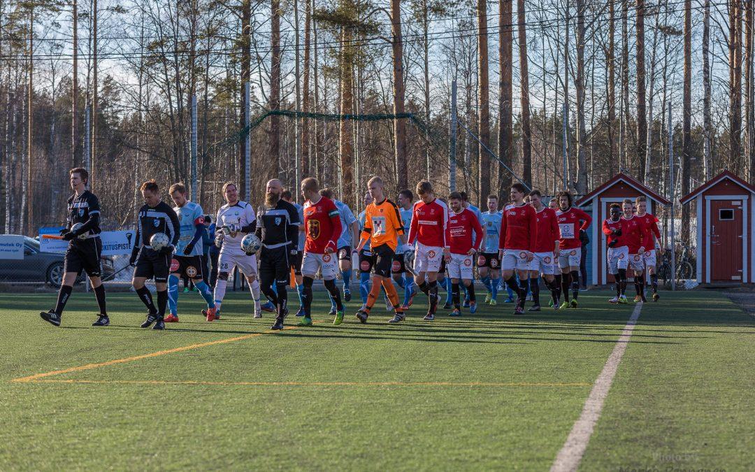 Regions` Cupin 5. kierroksella vastaan Kymin Palloilijat, JoPS-peli siirtyy