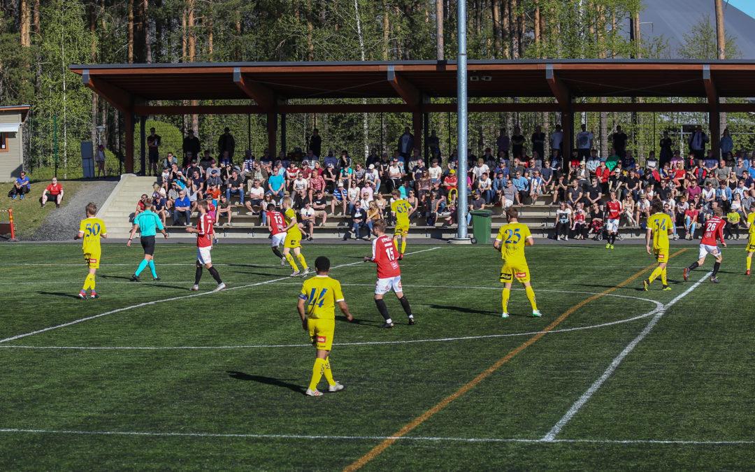 Runkosarja päättyi 2-1 (0-0) -tappioon Helsingissä, Top4-pelit edessä