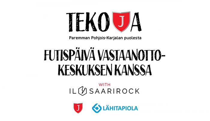 Heinäkuun teko: Jalkapallopäivä vastaanottokeskuksen kanssa with Ilosaarirock