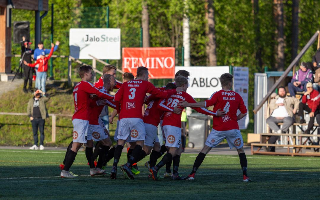 JIPPO nappasi maukkaan 3-4 (0-2) -voiton Mikkelistä