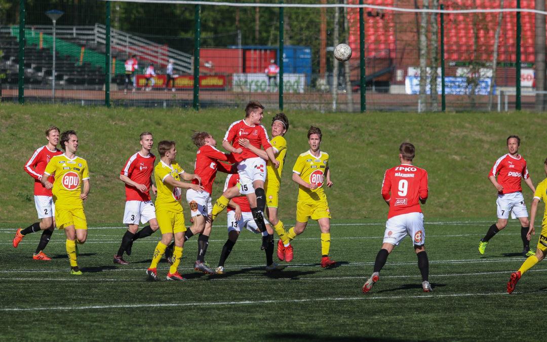 JIPPO joutui tyytymään 1-1 (0-1) -tasapeliin Klubin vieraana