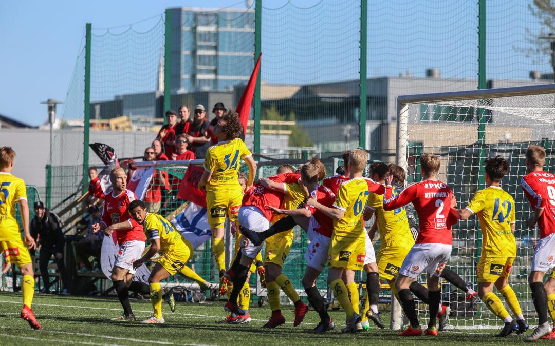 Viimeinen kotiottelu päättyi Viikinkejä vastaan 1-1 (1-1)