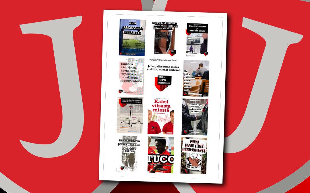 Miksi JIPPO merkitsee osa 12 luettavissa nyt!