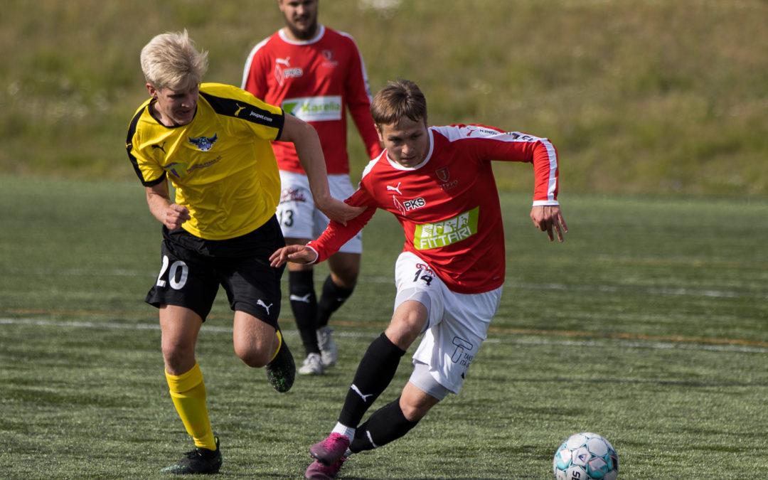 JIPPO kävi ryöstöretkellä Oulussa lukemin 1-2 (0-1)