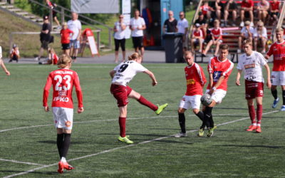 JIPPOlle kauden ensimmäinen tappio – JJK parempi 2-0 (2-0)