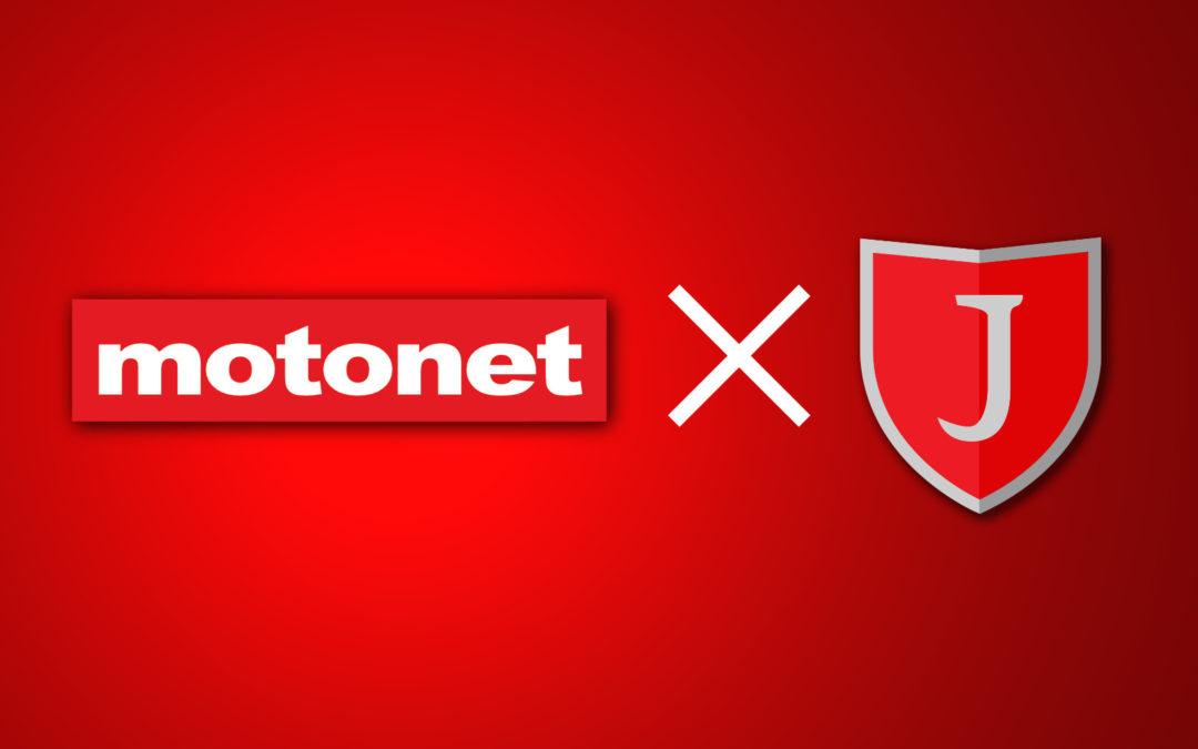 JIPPO pääyhteistyökumppanuuteen Motonetin kanssa!