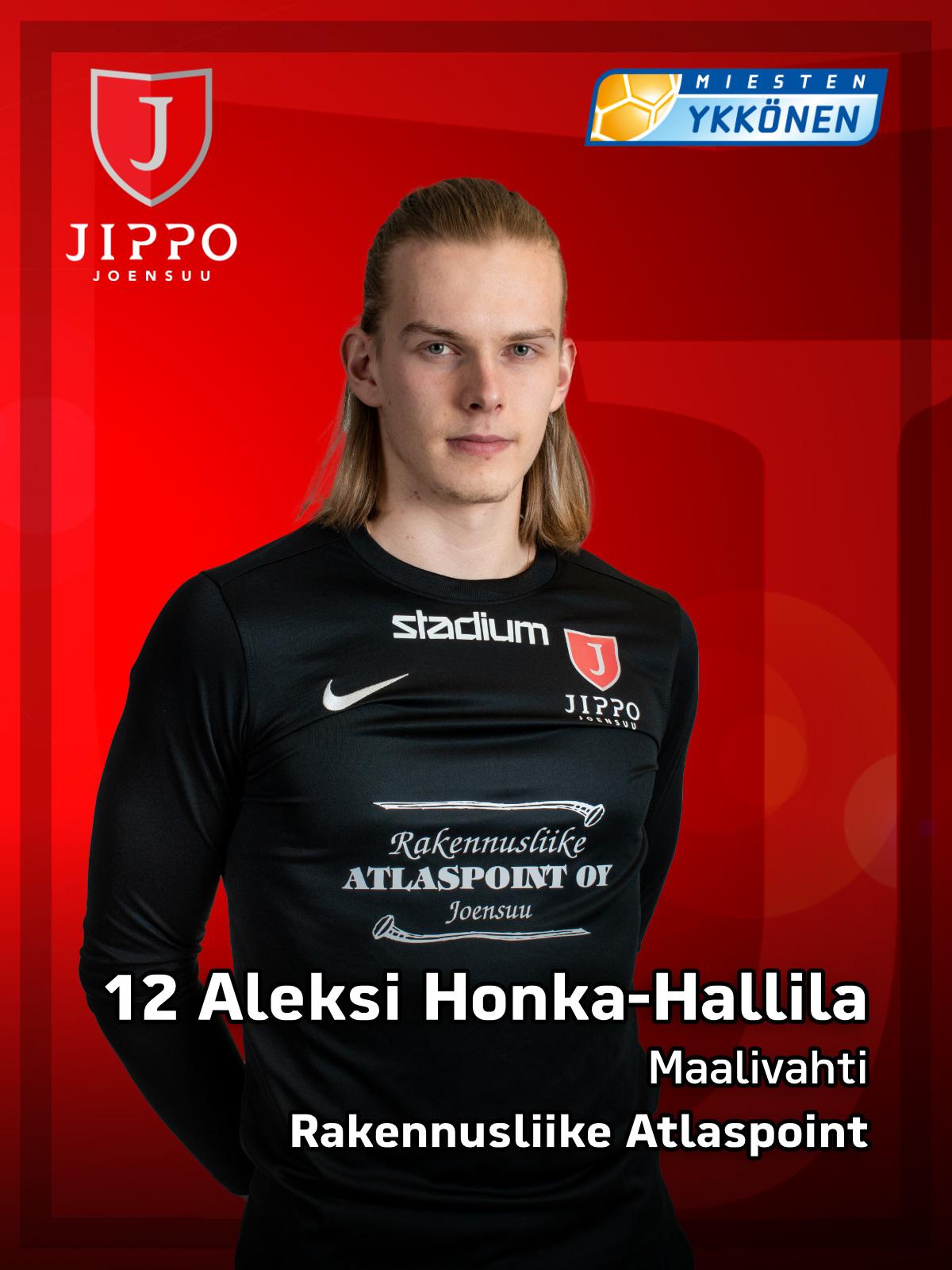 12 Aleksi Honka-Hallila