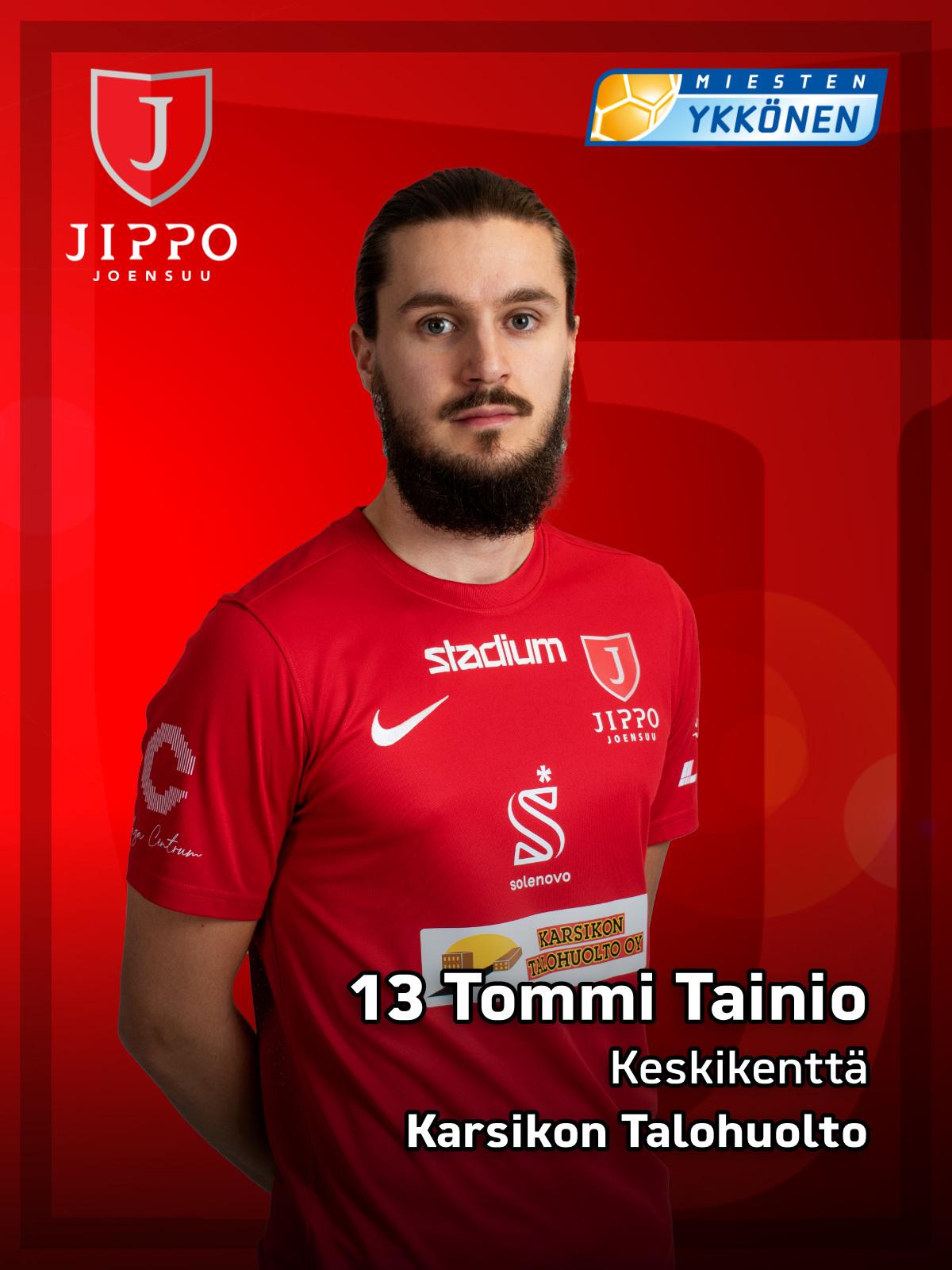 13 Tommi Tainio