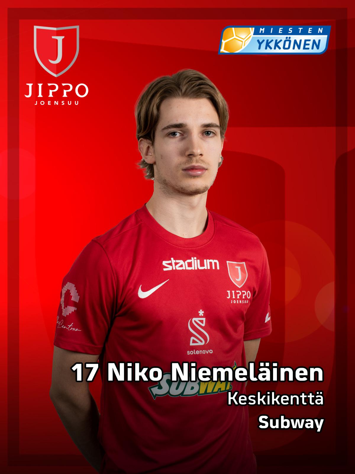 17 Niko Niemeläinen