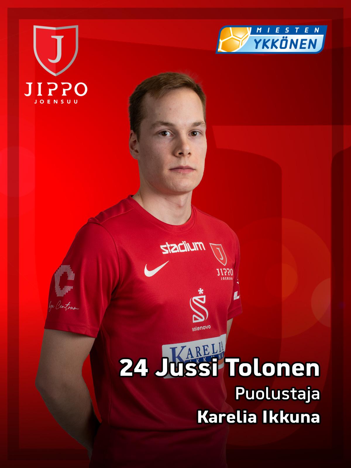 24 Jussi Tolonen