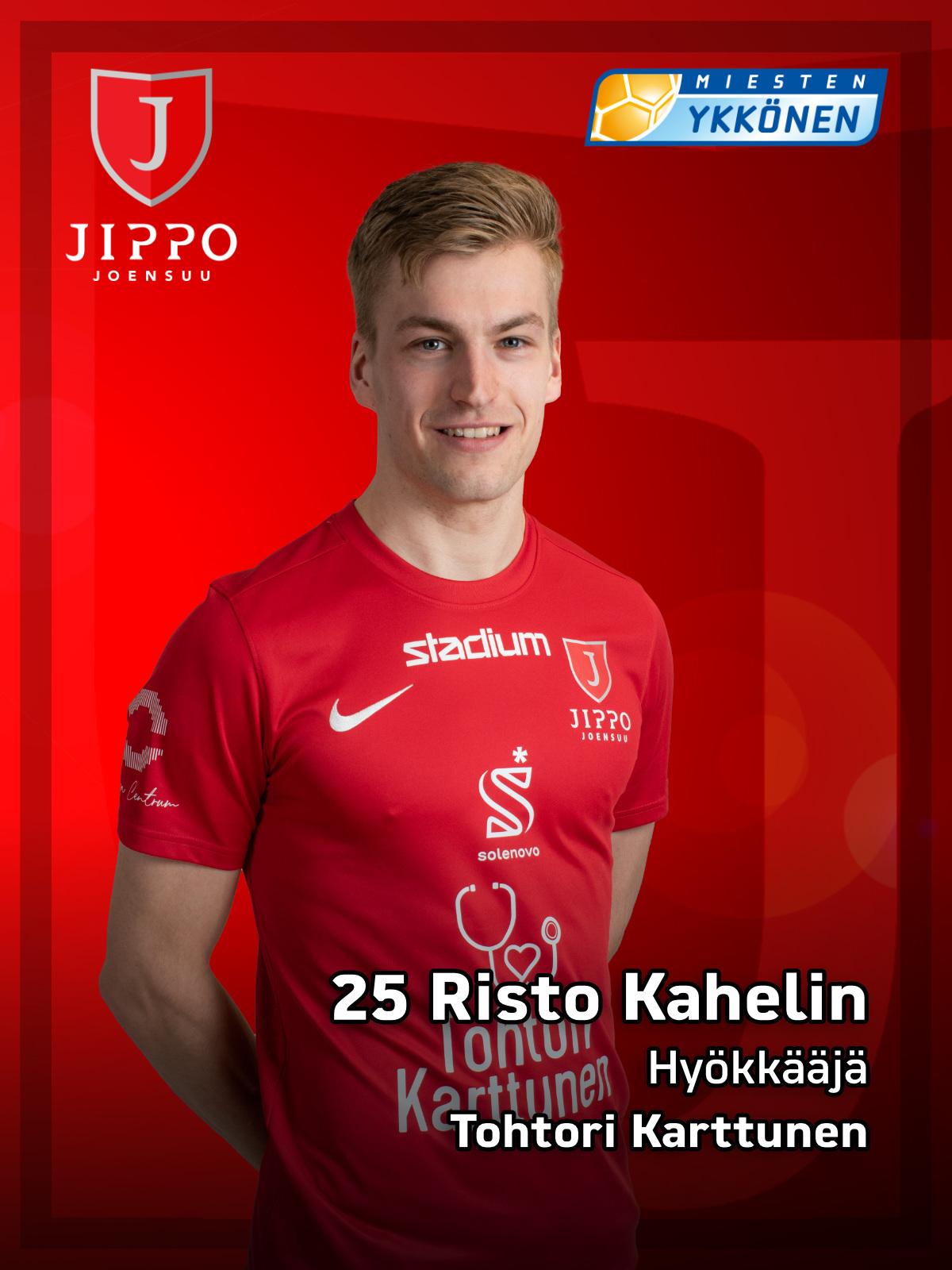 25 Risto Kahelin