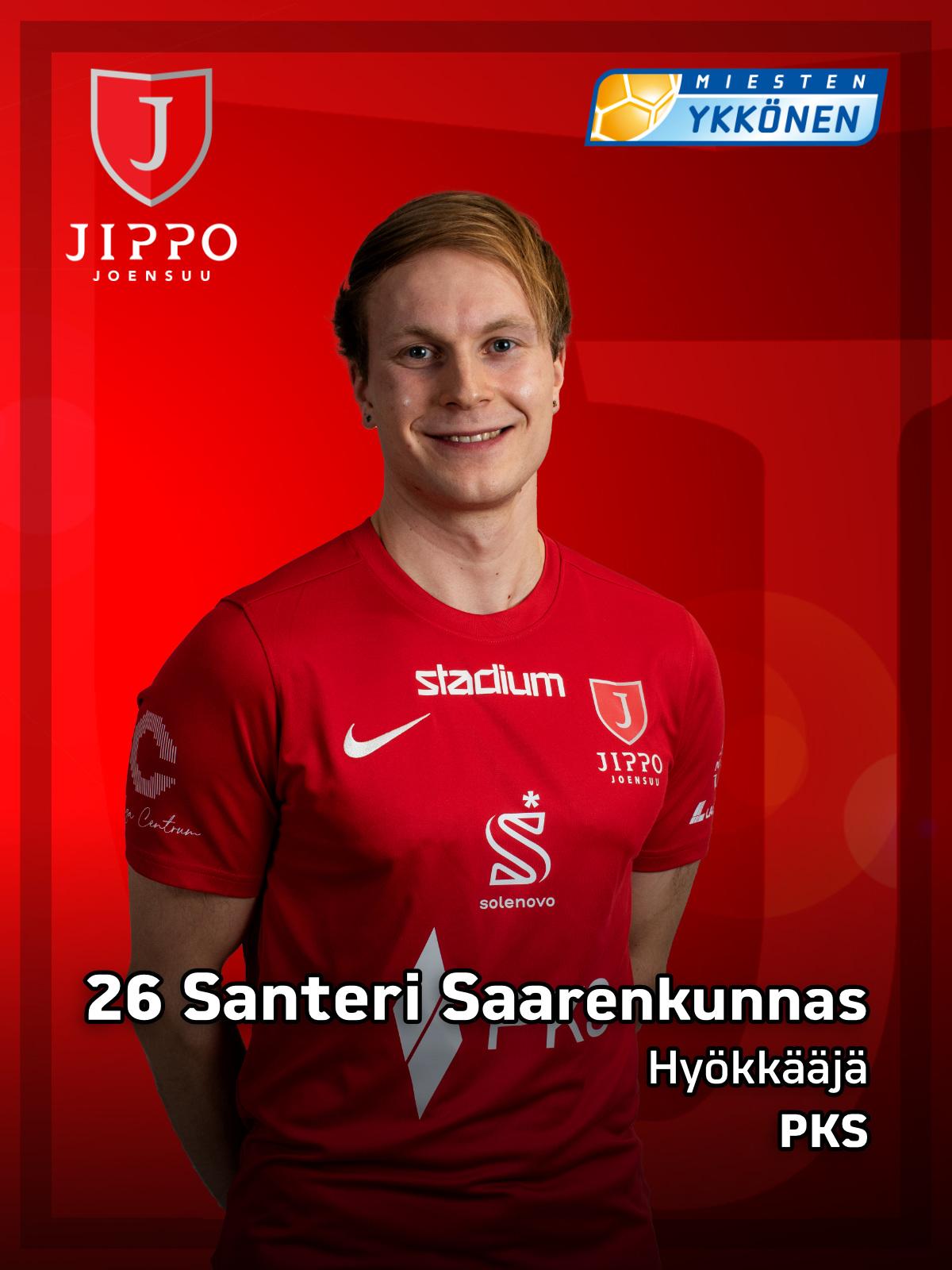 26 Santeri Saarenkunnas
