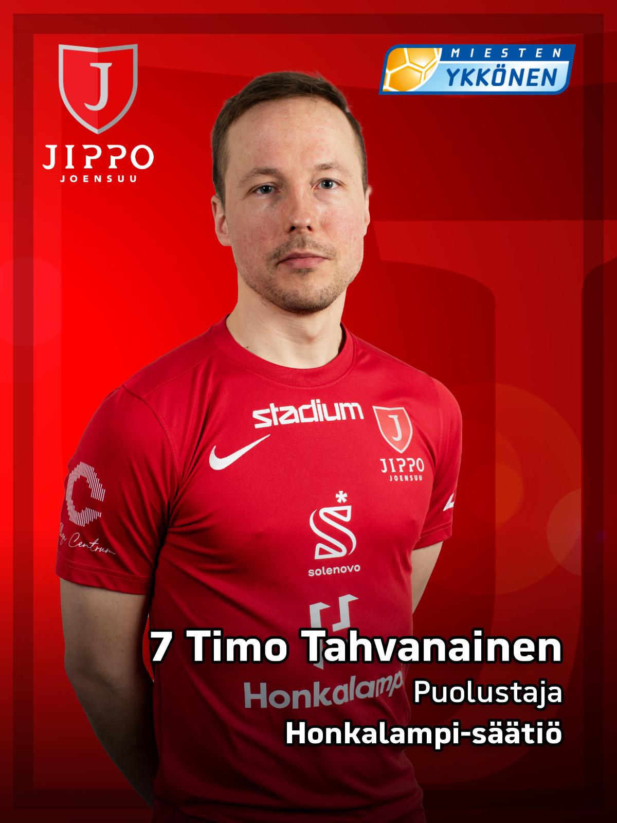 7 Timo Tahvanainen
