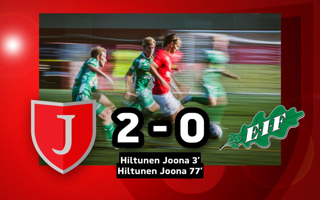 Maistuva pistepotti jäi Joensuuhun! – JIPPO-EIF 2-0 (1-0)