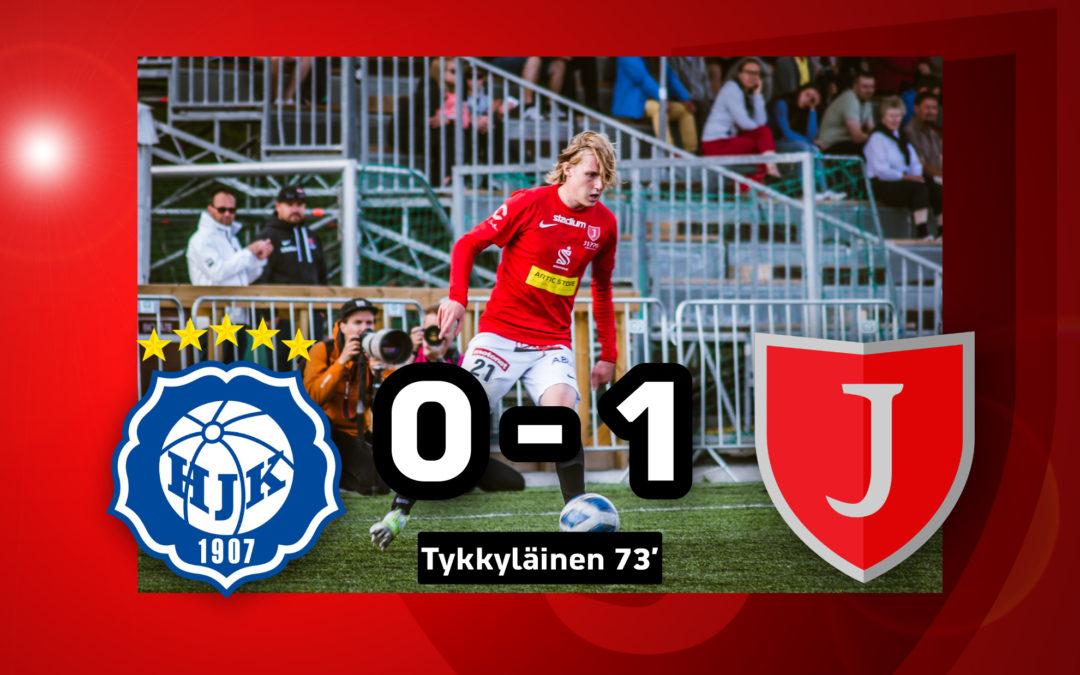 Töölöstä ryöstöpisteet matkaan! Klubi 04-JIPPO 0-1 (0-0)
