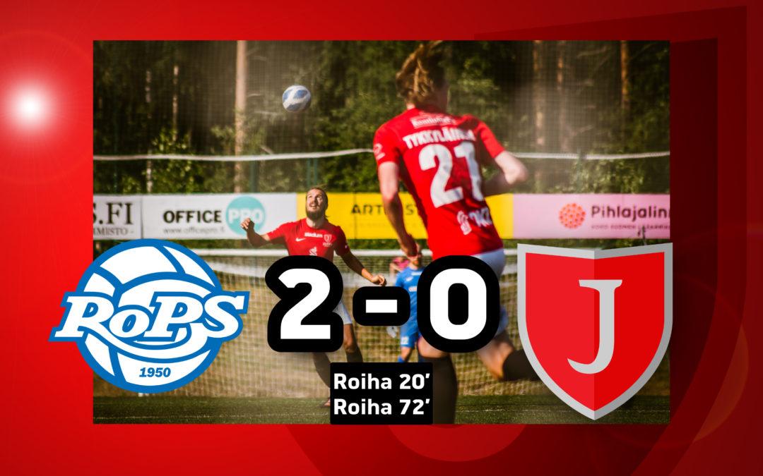 Bussin kyytiin ei pisteitä Rovaniemeltä: RoPS-JIPPO 2-0 (1-0)