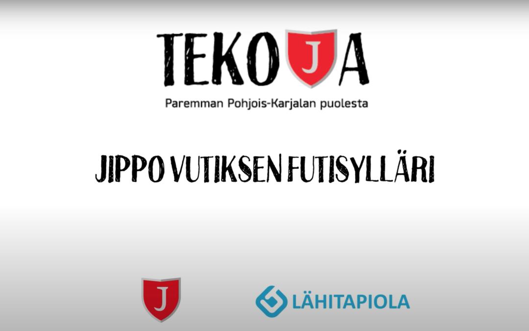 TEKOJA-KAMPANJA BY JIPPO & LÄHITAPIOLA ITÄ: JIPPO VUTIKSEN FUTISYLLÄRI!