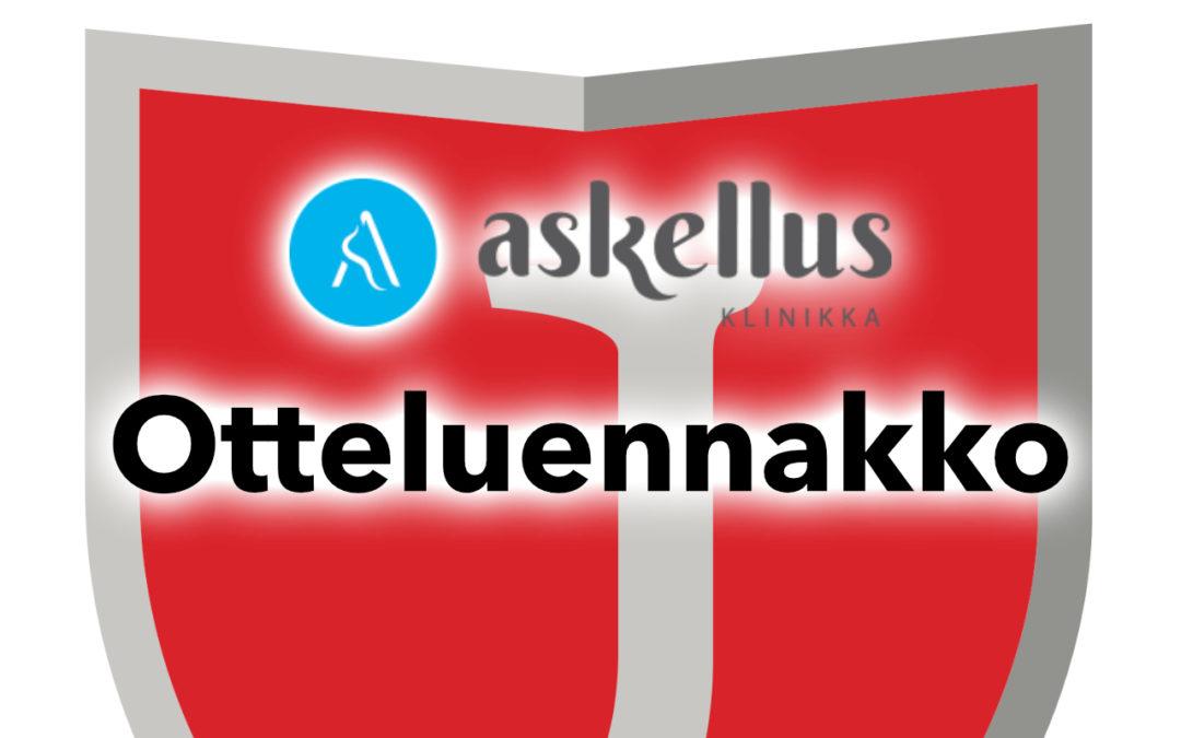 Askellusklinikka Oy otteluennakko: JIPPO – SC KuFu98