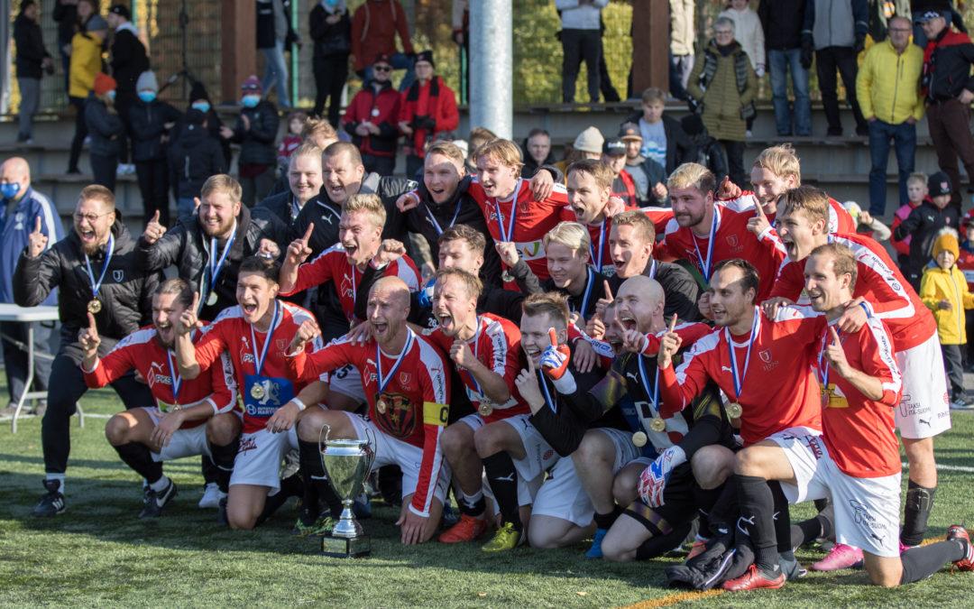 JIPPO voitti seurahistoriansa ensimmäisen Cup-pokaalin lauantaina